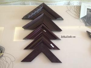 Fancy picture frames – chocolate love coloured frames