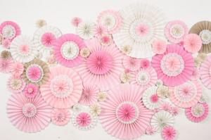 DIY pinwheels paper for decoring your house
